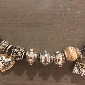 Brighton Jewelry - Brighton leather charm bracelet